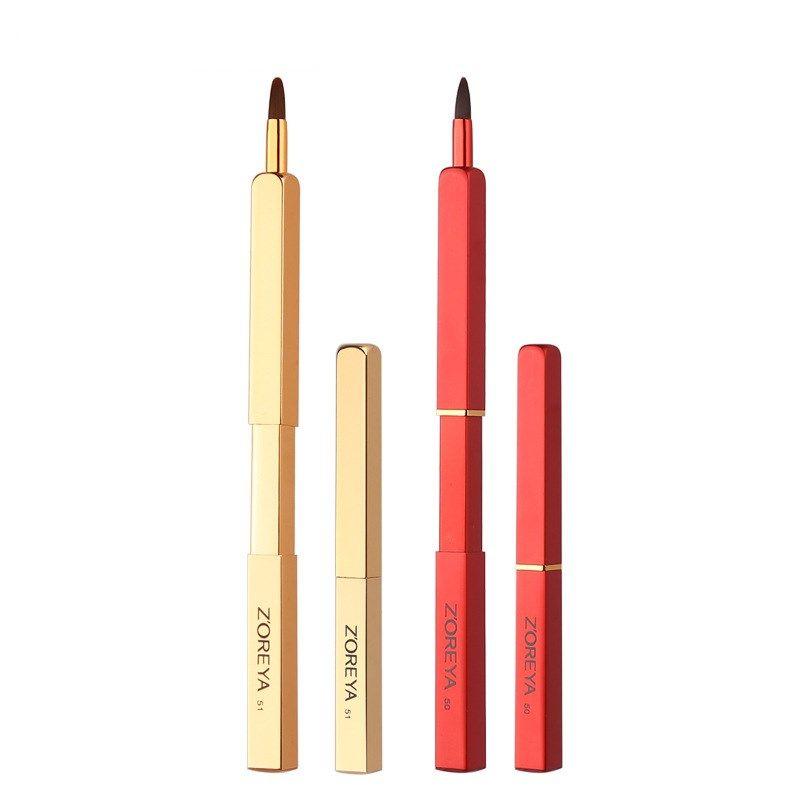 new portable man-made fiber makeup brush retractable beauty tool wholesale nihaojewelry NHAY242186
