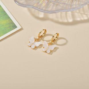 Boucles d'oreilles en alliage de papillon sauvage frais simples NHBQ242454's discount tags