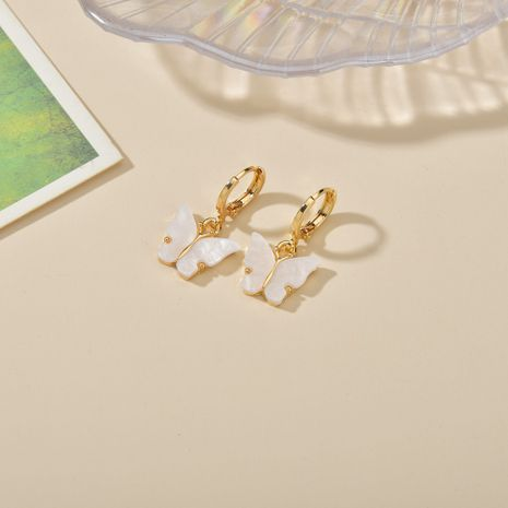 Fashion  simple fresh wild butterfly alloy earrings  NHBQ242454's discount tags