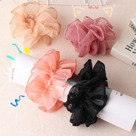 Scrunchies simples del pelo del intestino grueso de Corea al por mayor NHNU242475's discount tags