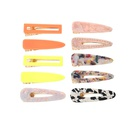 Korean Macaron retro frosted hair accessories bangs BB clip set NHNU242479