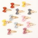 Nouveau Bowknot BB Clip Simple Belle Ensemble de pinces  cheveux pour enfants mignons NHNU242482