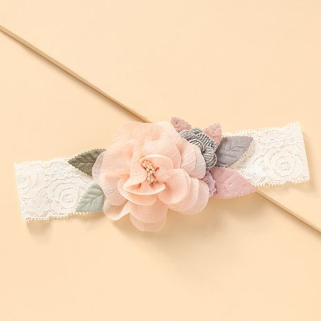 Korean  baby  lace flowers hair band wholesale  NHNU242494's discount tags
