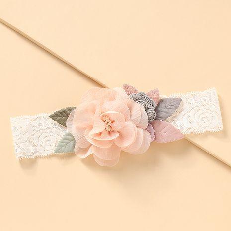 Bande de cheveux coréenne bébé dentelle fleurs en gros NHNU242494's discount tags