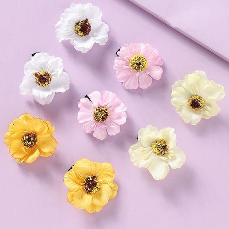 Korean cute flowers  children's side clip  set  NHNU242500's discount tags