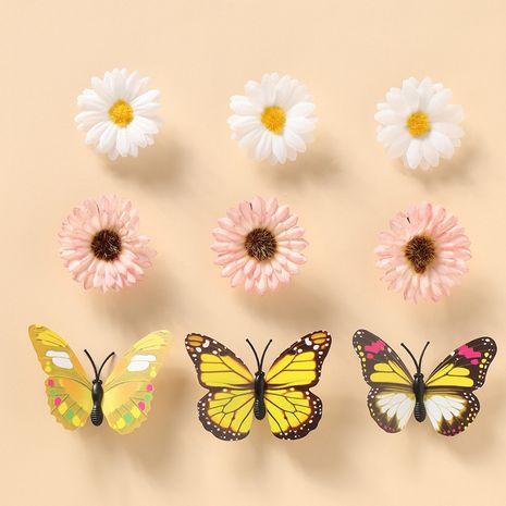 nouvelle pince à cheveux cassée princesse petite pince à cheveux papillon marguerite NHNU242501's discount tags