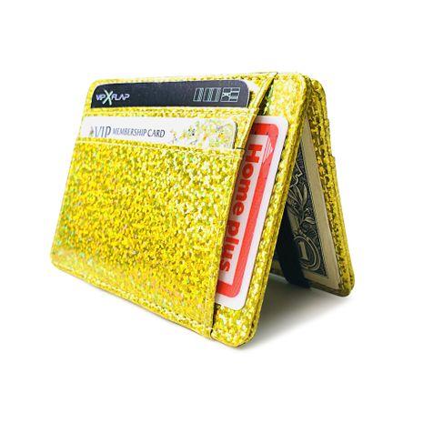 Korean Laser Coin Purse Mini Magic Bag Small Girls Short Wallet NHBN242507's discount tags