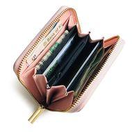 Korean new fashion zipper leisure small card bag ID card holder women's small wallet wholesale NHBN242509