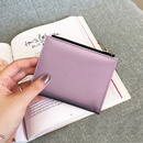 New Korean Hot Sale Lychee Pattern Cherry Embroidered Ladies Wallet Short Student Coin Purse  NHBN242510