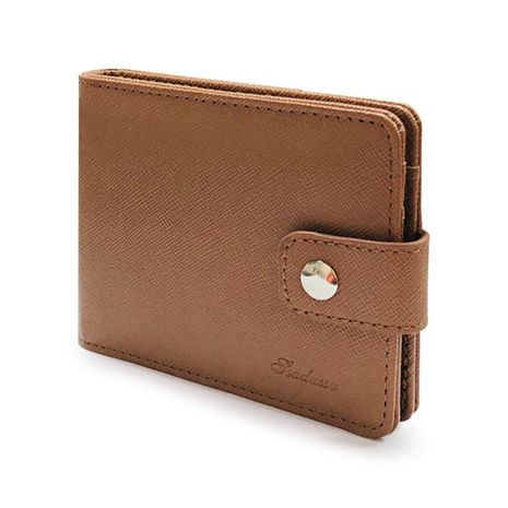 New Korean leather short buckle men's small buckle wallet wholesale NHBN242511's discount tags