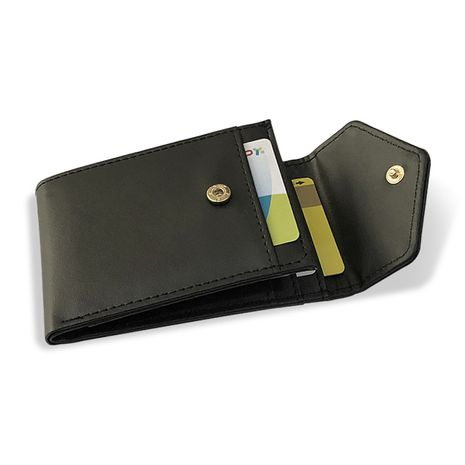 Fashion men's multi-card bank card package leather buckle wallet wholesale NHBN242515's discount tags