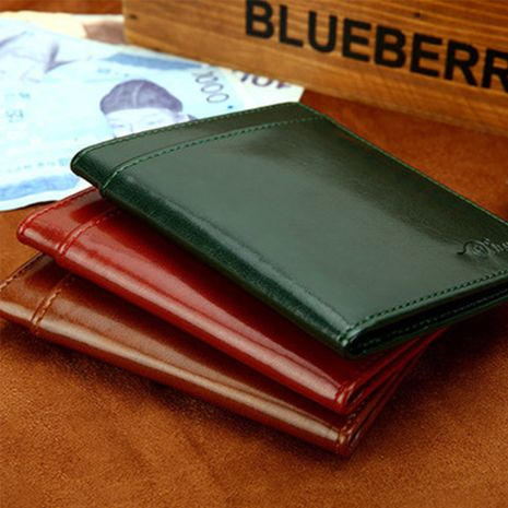 Fashion leather ultra-thin Korean new men's wallet wholesale NHBN242521's discount tags