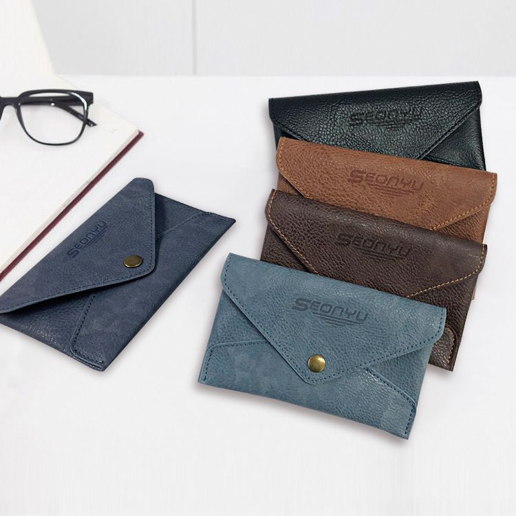 new Korean men's large capacity casual portable wallet business card holder coin purse NHBN242524