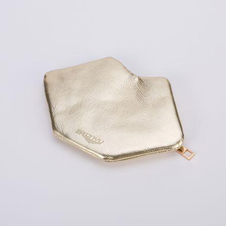 New Korean leather lip-shaped ladies cute coin purse storage bag mini cartoon coin bag NHBN242532's discount tags