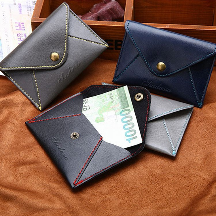 Korean frosted coin purse ultra-thinbusiness card storage wallet wholesale  NHBN242537