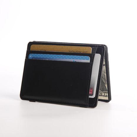 Bolsa de recogida de moda simple nueva banda elástica titular de la tarjeta coreana billetera mágica al por mayor NHBN242538's discount tags