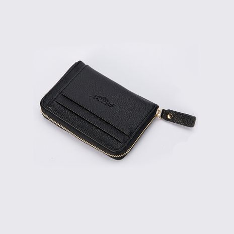 Korea's new casual multi-card short men's retro zipper wallet wholesale NHBN242544's discount tags