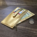 new buckle long wallet multicard position Korean zipper clutch womens bag wholesale NHBN242548