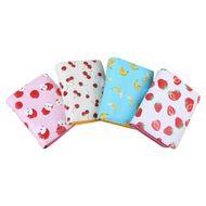Multifunctional leather girls cartoon zipper buckle strawberry coin purse wholesale NHBN242549