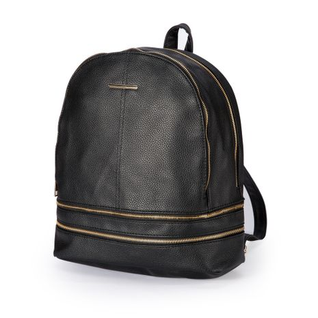 new trend small backpack soft zipper backpack Korean fashion all-match women's bag wholesale NHBN242554's discount tags