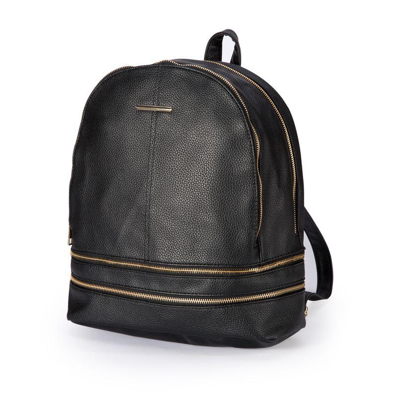 new trend small backpack soft zipper backpack Korean fashion all-match women's bag wholesale NHBN242554