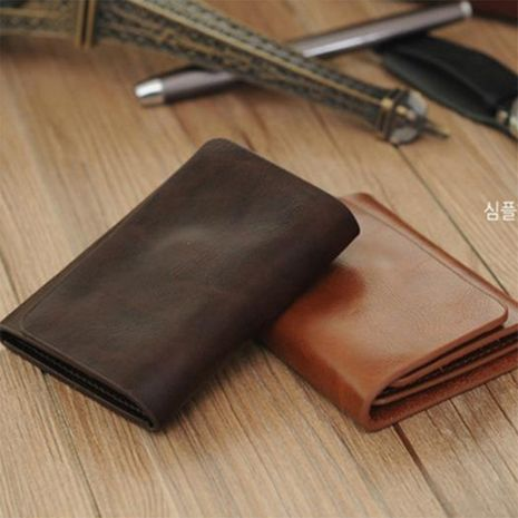New hot sale leather short multifunctional casual men's wallet wholesale  NHBN242556's discount tags