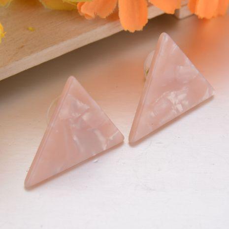 simple triangle geometric pattern multicolor ear jewelry earrings for women wholesale hotsale NHBQ242593's discount tags