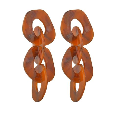 hot-selling chain fashion Acrylic Fashion Trend Street Style Earrings for Women NHBQ242605's discount tags