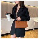 new trendy Korean wild texture fashionable oneshoulder small square messenger womens bag NHTC242662