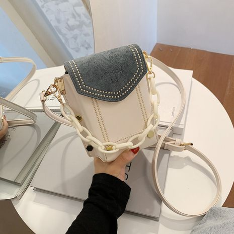 moda todo-fósforo nuevo bolso de mano de mensajero de banda ancha de un solo hombro para mujeres NHJZ242741's discount tags