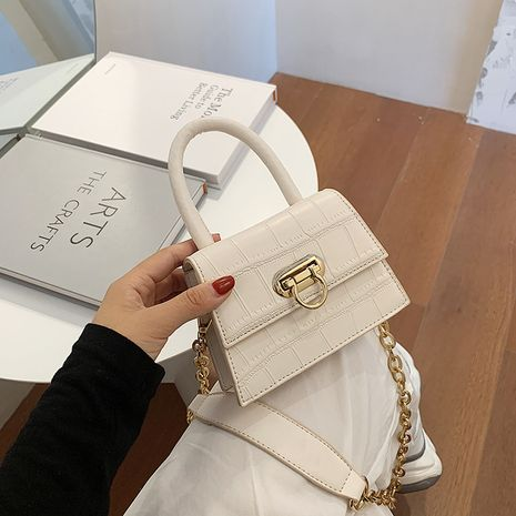 new trendy fashion Korean wild one-shoulder messenger women's small square bag NHJZ242744's discount tags