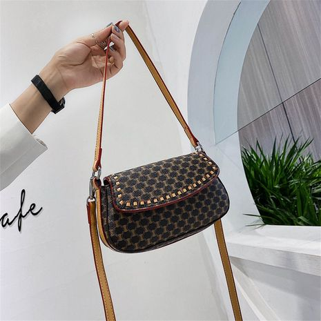 summer new trendy wild style simple one-shoulder messenger fashion women's small square bag NHJZ242759's discount tags