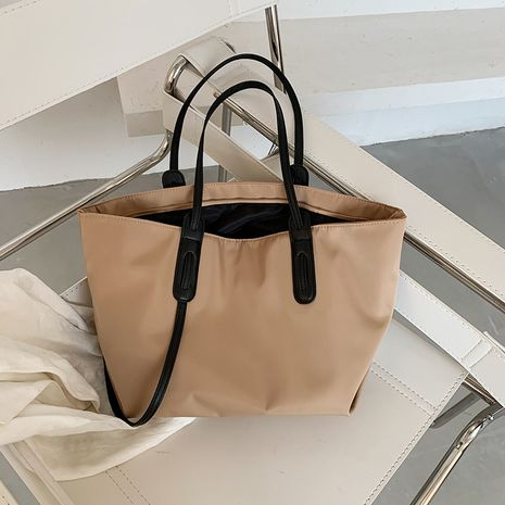 Summer new trendy fashion one-shoulder wild simple casual large-capacity ladies handbag NHJZ242765's discount tags