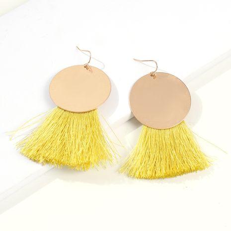 Bohemian ethnic style earrings tassel earrings NHMD242854's discount tags