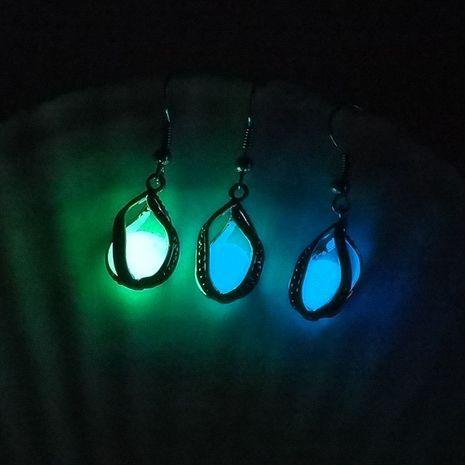 Venta caliente sirena moda cuentas luminosas novedad luminosa señoras pendientes de aleación accesorios NHAN251346's discount tags
