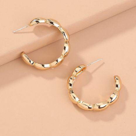 Pendientes en forma de C brillantes de moda de venta caliente al por mayor nihaojewerly NHAN251350's discount tags
