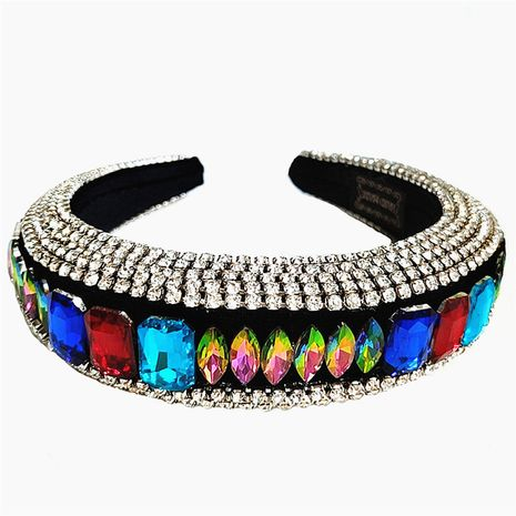 new Baroque style rhinestones full of diamonds handmade ladies prom headband luxury hair accessories NHVA251372's discount tags