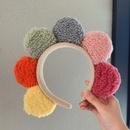 Fashion cute sun flower press hair accessories Korean sweet girls headband NHDQ251419