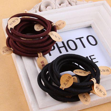 Moda simple hebilla de fondo banda de goma cuerda para el cabello tocado accesorios para el cabello al por mayor NHNA251427's discount tags