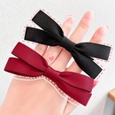 Korean small bow knot simple pure color girls hair rope hair accessories  NHNA251441