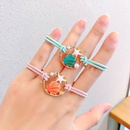 Fashion shell double starfish girls knotted high stretch rubber band bracelet dualuse hair accessories NHNA251444