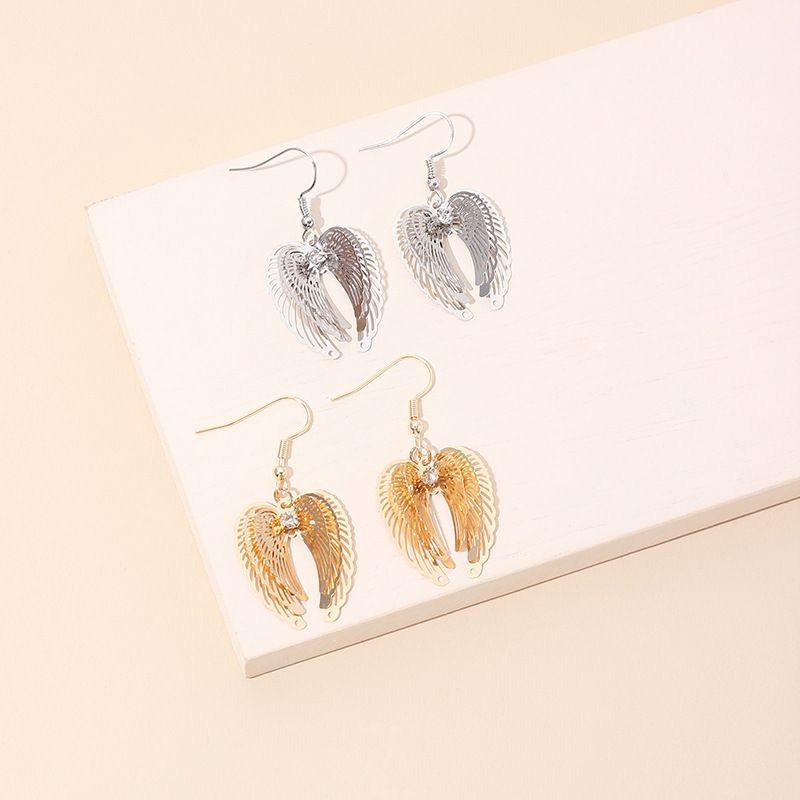 fashion vintage angel wings earrings wholesale nihaojewerly NHRN251463