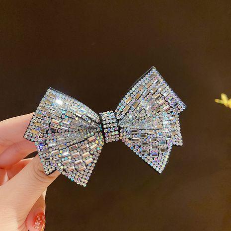 Zircon en trois dimensions en épingle à cheveux arc nouvelle carte rétro en épingle à cheveux frange clip en gros NHMS251600's discount tags