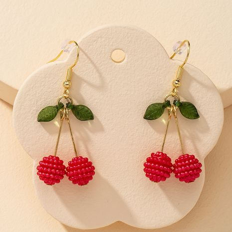 fashion 1 pair of cute fruit earringshot selling wholesale NHGU251664's discount tags