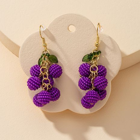 popular 1 pair of cute fruit hot selling earrings wholesale NHGU251671's discount tags