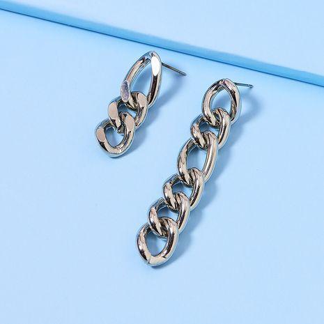 pendientes vendedores calientes de la nueva cadena asimétrica popular al por mayor NHGU251706's discount tags