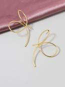 popular new 1 pair of metal line selling earrings jewelry wholesale NHGU251710