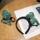 Bande dessine grande poupe de dinosaure bandeau mignon carte de germination corenne vendant une broche en pingle  cheveux mignonne en gros NHCQ251788