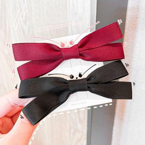 Coréen petit noeud d'arc simple couleur pure filles cheveux corde accessoires pour cheveux NHNA251441's discount tags
