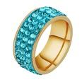 NHHF1057506-Three-rows-of-clay-blue-diamond-No.9